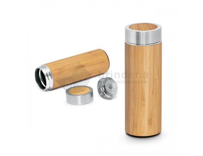 Garrafa térmica Bambu 430ml - GT16