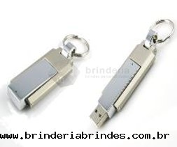 Pen Drive Chaveiro Metal - PN26